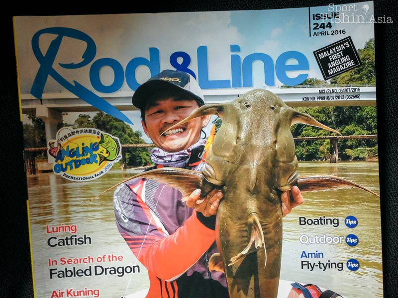 Fly fishing Thai Mahseer Trip in Print