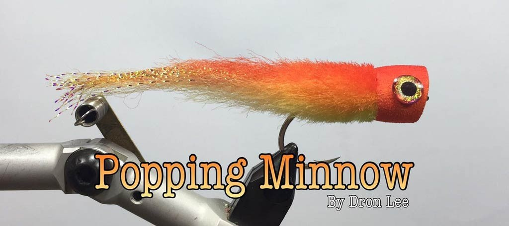 Fly Tying Workshop by Dron Lee – Part 2: Tying the Popping Minnow Fly