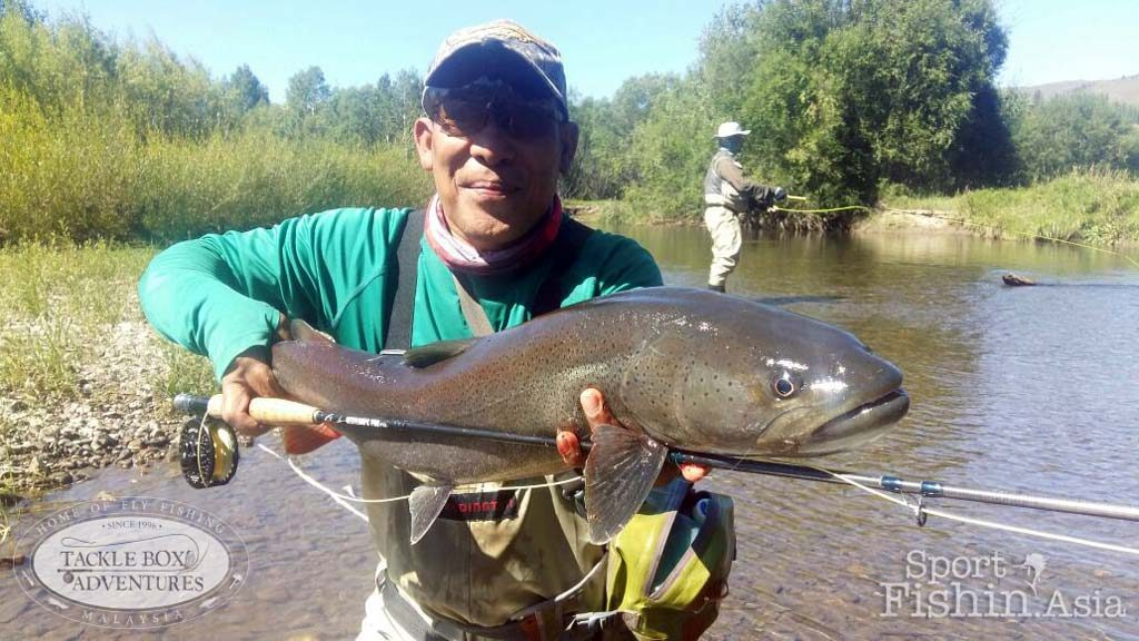 Latest Photos from a Successful Mongolia Fly Fishing Trip