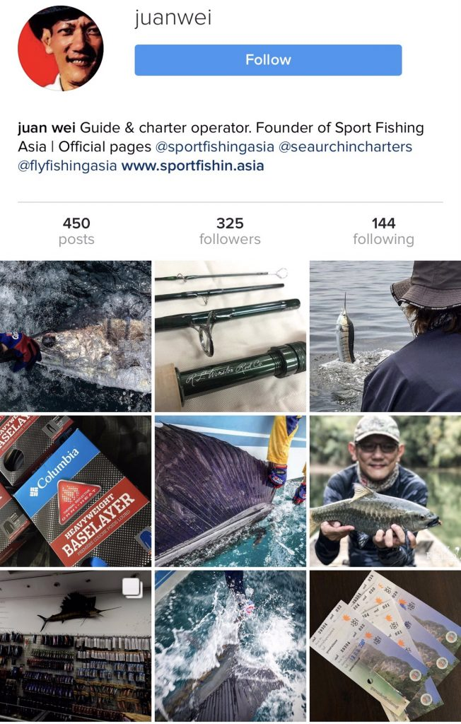 Fly Fishing Asia is Now On Instagram
