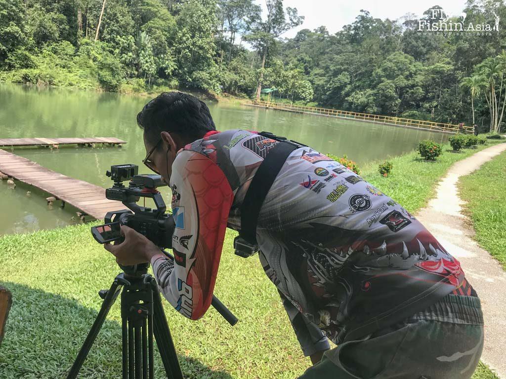 Fly Fishing Feature in Local Fishing TV Show – Kembara Joran