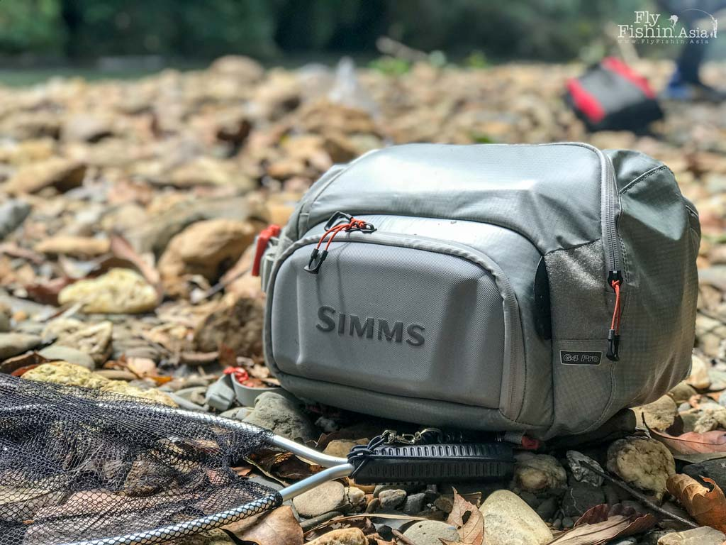 The simms g4 pro sling pack how good is it for Simms fly fishing