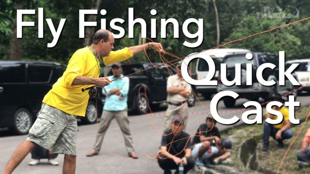 Fly Fishing Quick Cast with Jimmy LeMert – How To Video