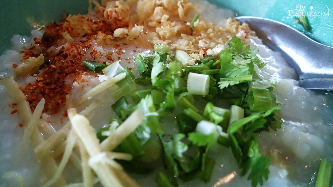 Thai style porridge