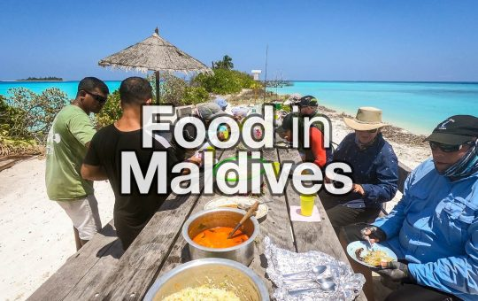 Food in The Maldives
