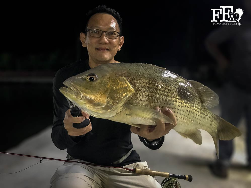 JW with a golden snapper