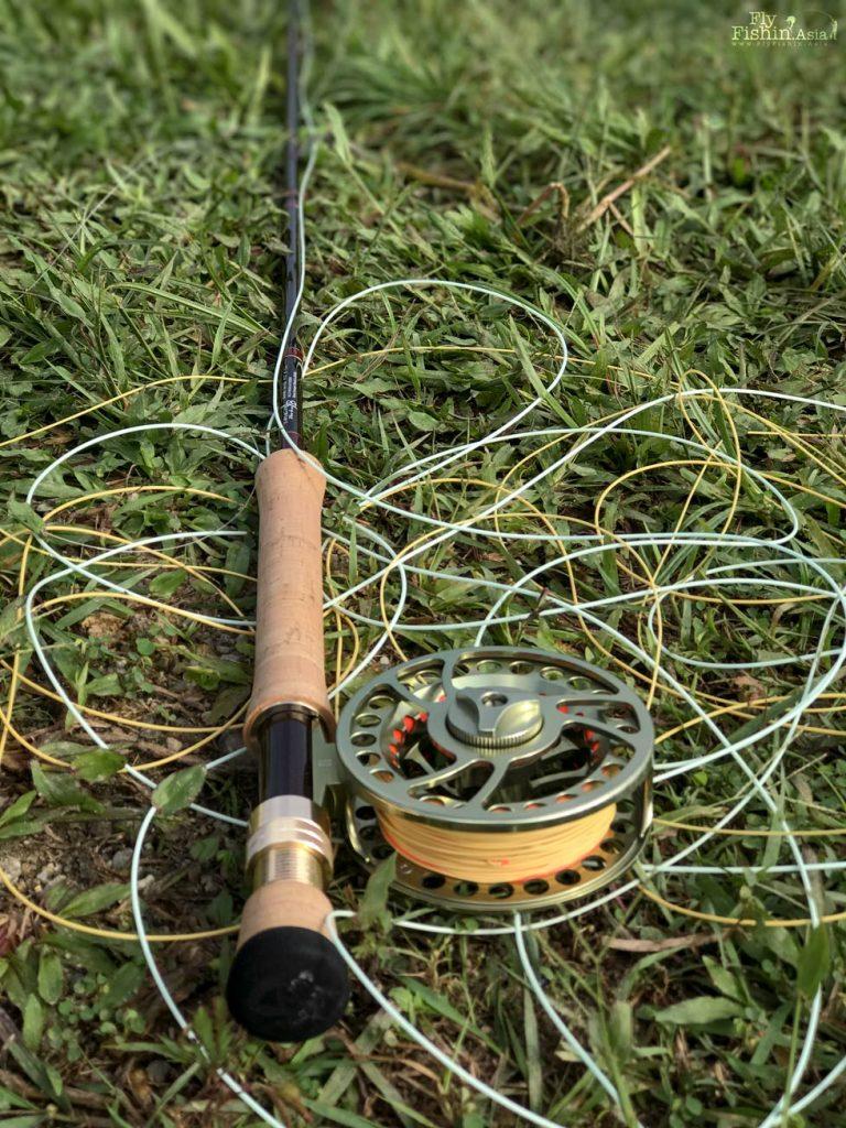 prototype Yamaga Blanks saltwater fly rod