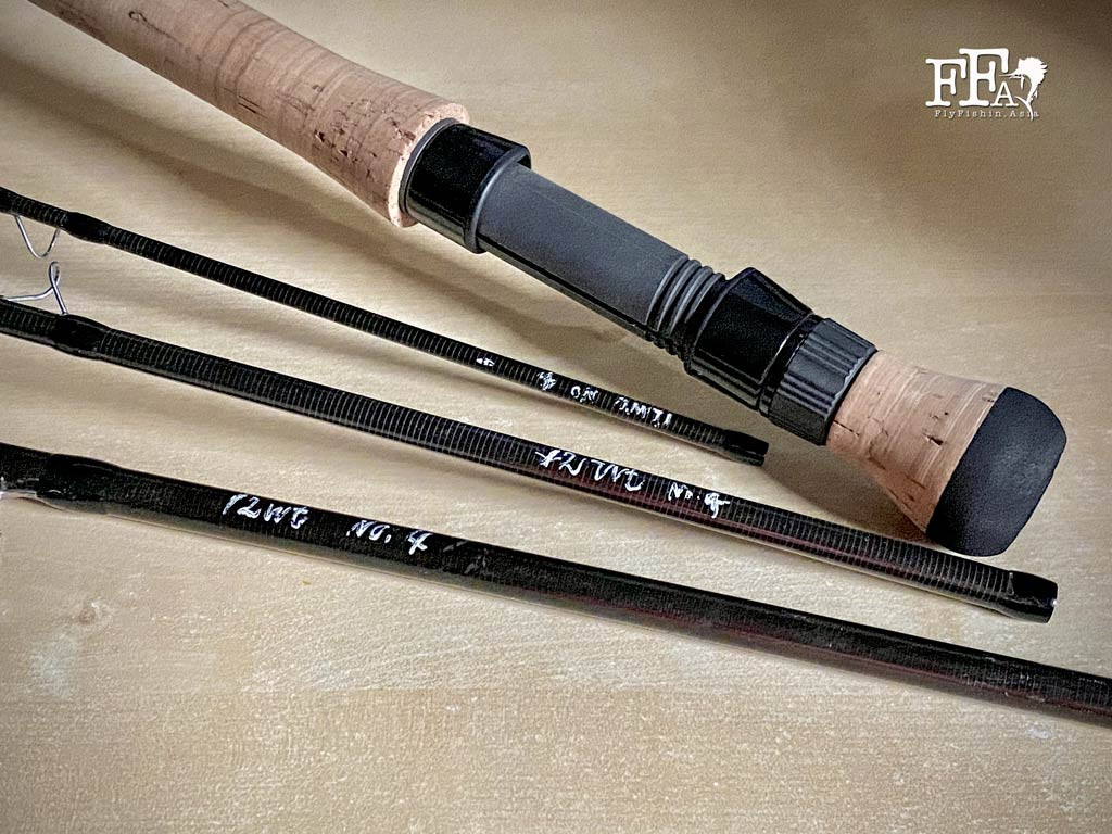 JW used the early prototype Yamaga Blanks 12wt fly rod