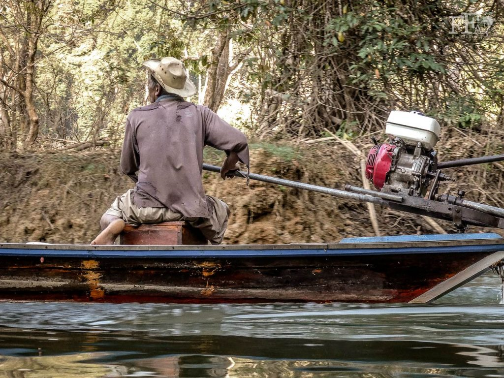 The boatmen are locals living a simple but hard life. Very nice people that knows the rivers and jungle very well. Some are retired former park rangers.